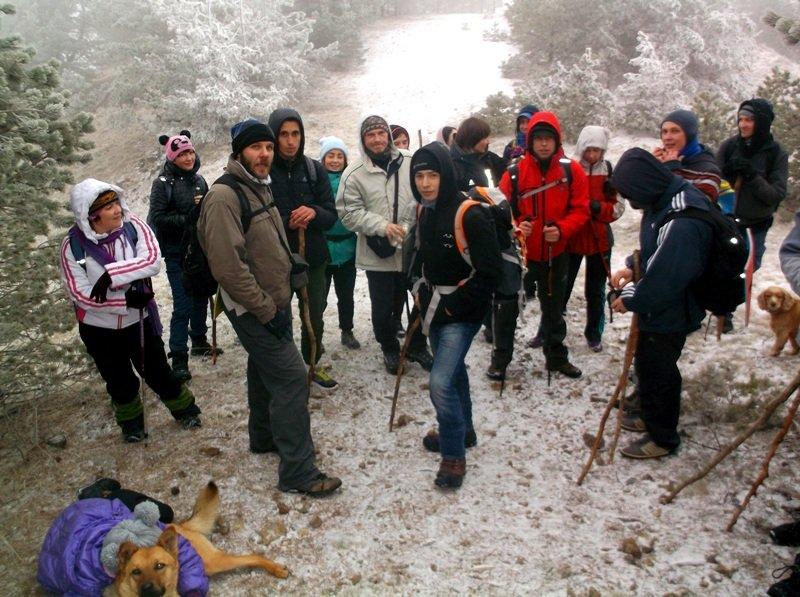 Крымские туристы покорили Роман-Кош