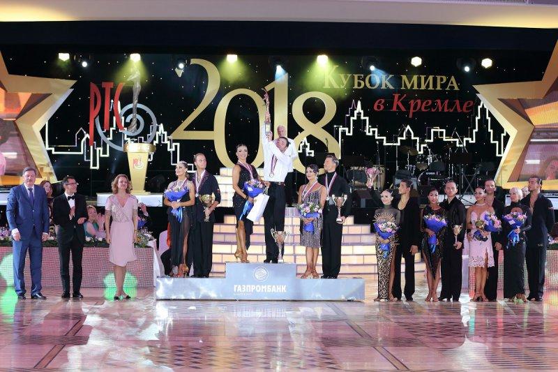 Победители Кубка мира Профессионалы Латина фото Юрий Коныжев