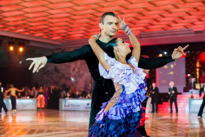 Валентин Воронов и Алина Имрекова