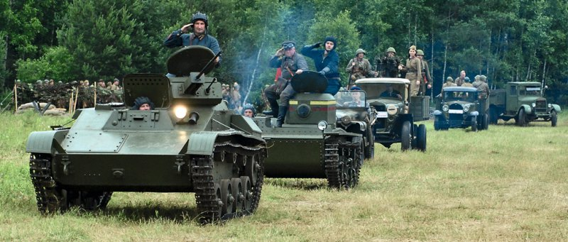 Международная выставка исторической военной техники «Моторы войны»