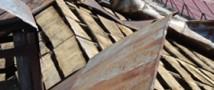 Град в краснодарском крае побил больше 50 крыш