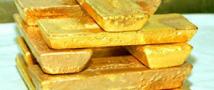 Падение цены золота