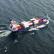 Спасатели пытаются произвести высадку на борт сухогруза «Капитан Кузнецов»