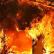 Пожар в доме священнослужителя. Спасено четверо детей.