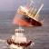 Севший на мель Южнокорейский траулер загрязняет Берингово море.