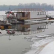 Плавучие льды на Дунае снесли более ста судов
