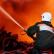 Пожар в общежитии Балтийского флота Калининграда