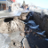 В Крыму штормом были разрушены пляжи.