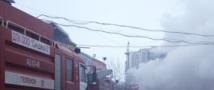В Пермском крае горит детский сад