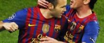 Барселона в пятый раз подряд выходит в полуфинал Лиги чемпионов