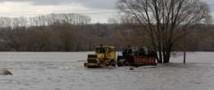 В Красноярском крае паводок обрушил мост