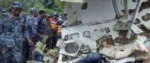 Лайнер с паломниками рухнул в горах Непала