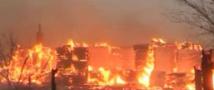 В Архангельске пожар уничтожил 9 жилых домов