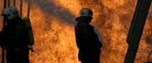 В Дагестане загорелся газопровод