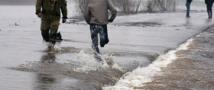 Вода уходит из Среднеколымска