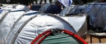 «Палаточный протест» в центре Тель-Авива завершился арестом активистов