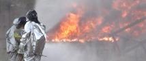 В Ангарске на нефтебазе прогремели два взрыва