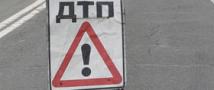 В Екатеринбурге автокран с отказавшими тормозами протаранил восемь автомашин