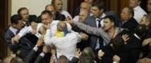Украинские депутаты снова подрались из-за русского языка