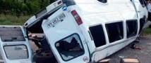 В Свердловской области столкнулось два автобуса: два человека погибли