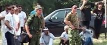 В Грозном был подорван военный броневик