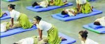 Мировой рекорд одновременного массажа установлен тайскими массажистами
