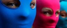 Участницы Pussy Riot сняли видеоролик для церемонии MTV