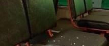 Сегодня ночью в столице обстреляли троллейбус