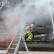 В Новосибирске загорелись четыре здания