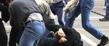 Избит омоновец в массовом побоище