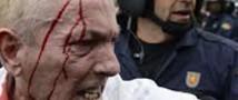 В Мадриде произошло столкновение демонстрантов и полиции