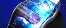 Samsung начнет в будущем году производство устройств с гибким дисплеем