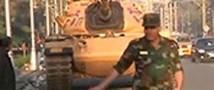 В Египте перед дворцом президента выставлены танки