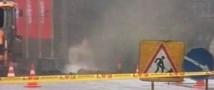 В Кабардино-Балкарии машина протаранила газопровод