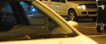 На МКАД машина вылетела прямо в остановку