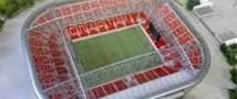 Стадион «Спартак» переименован ещё до открытия.