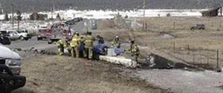 В Америке жертвами крушения частного самолета стали два человека