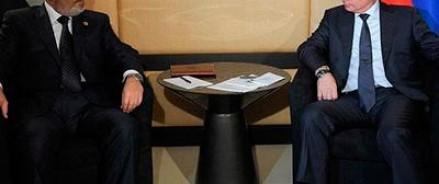 Владимир Путин и Мохаммед Мурси встретились в ванной