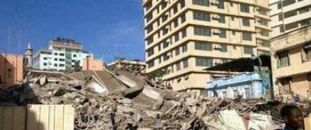 В Танзании рухнул 16-этажный дом
