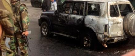 У посольства Франции взорвали автомобиль
