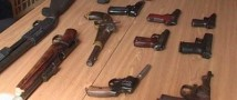 На месте стрельбы в Дагестане изъят арсенал