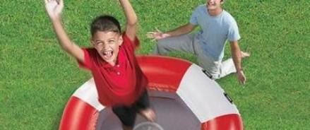 Детские батуты приносят радость ребенку