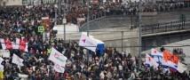 Митинг на Болотной достиг  6 тысяч человек