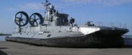 В Крыму прошел испытание самый большой корабль-амфибия