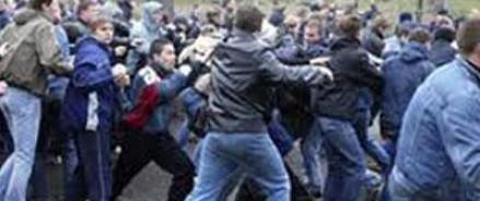 В Москве произошла драка с участием тридцати человек