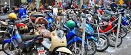 Мотоциклисты будут парковаться бесплатно