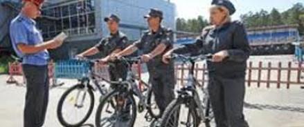 Московская полиция сядет на велосипед