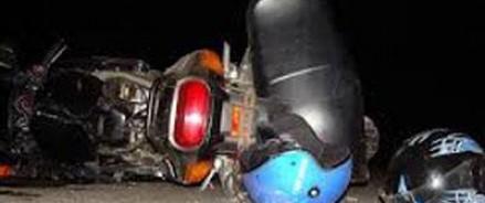 Друзья пострадавшего мотоциклиста казнили виноватого полицейского на месте