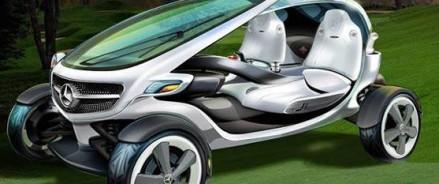 Mercedes представил концепт гольф-карта будущего