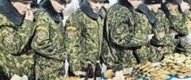 Российские солдаты быстро набирают вес